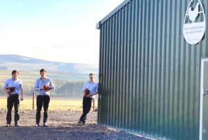 Vencomatic poultry farming equipment East Lothain Farm family diversifying