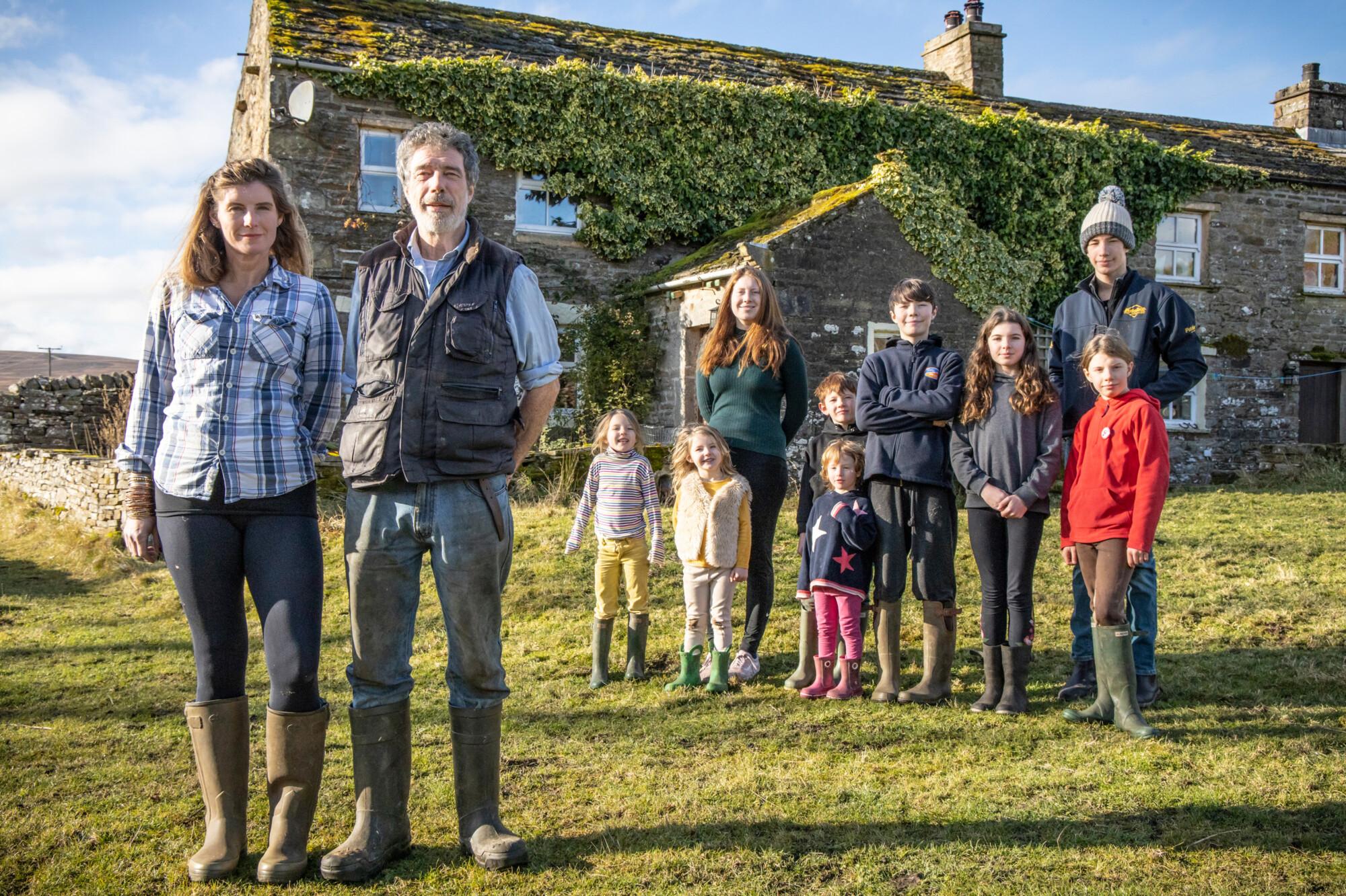Our Yorkshire Farm - The Owen family