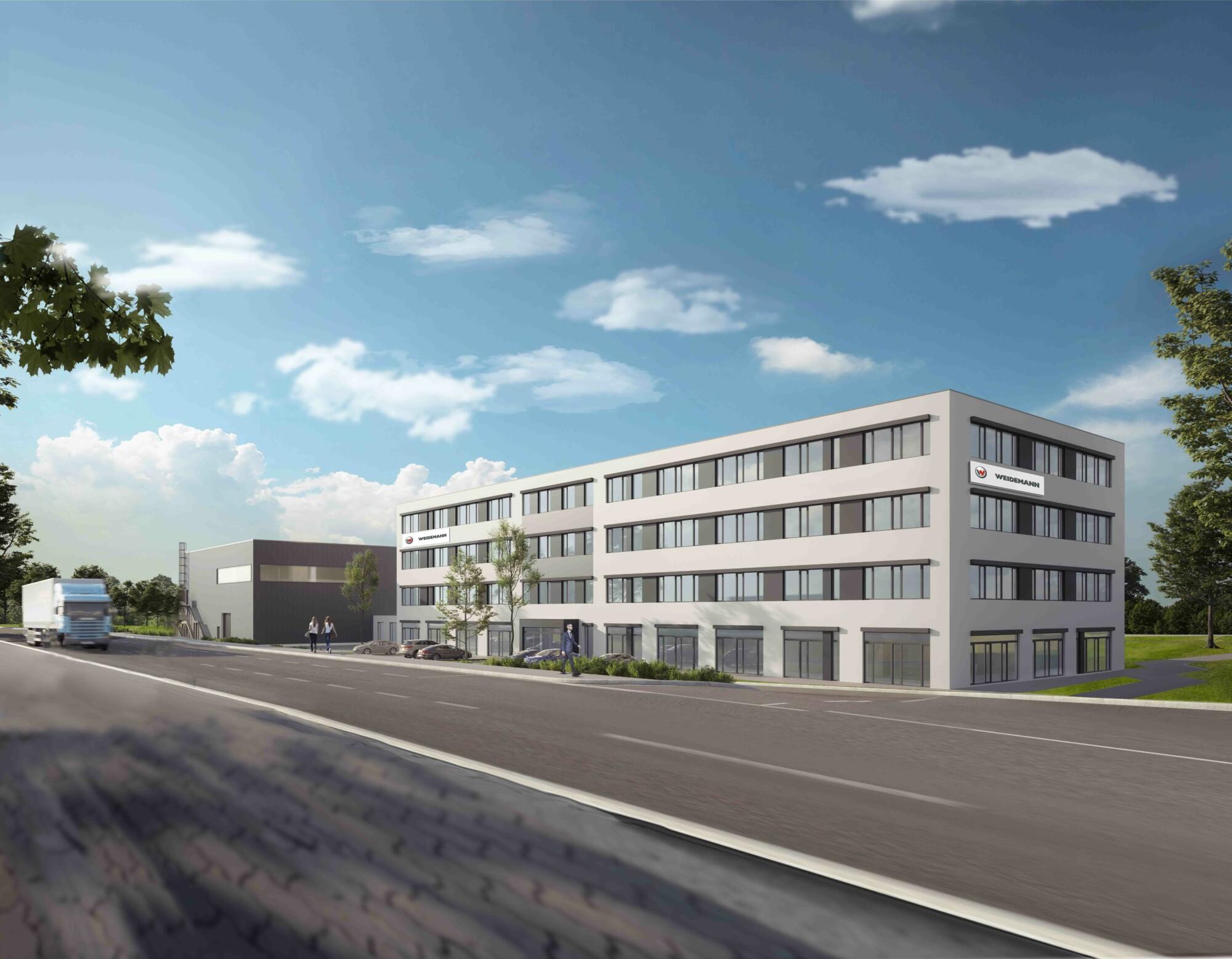 Weidemann GmbH new building.