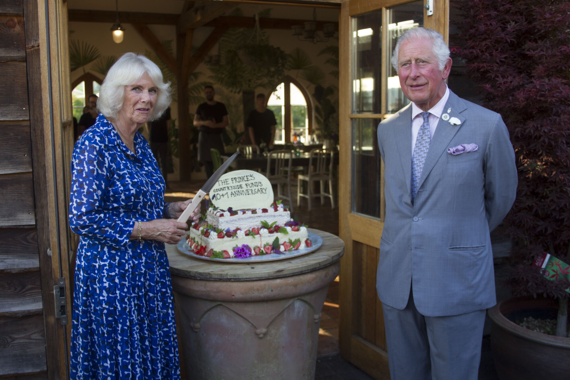 the Prince of Wales and duchess of Cornwall rural communities