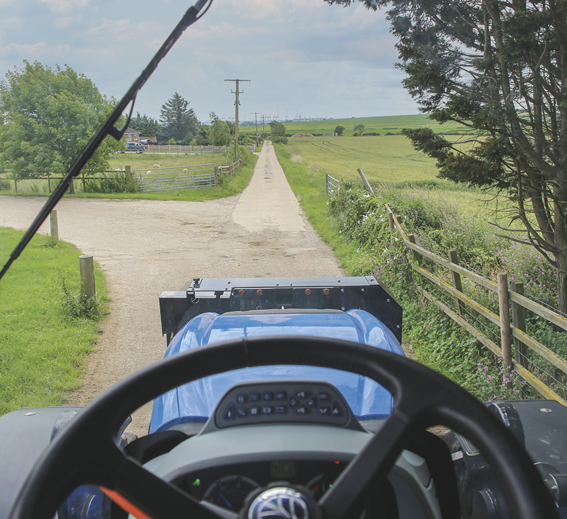 New Holland Test Drive