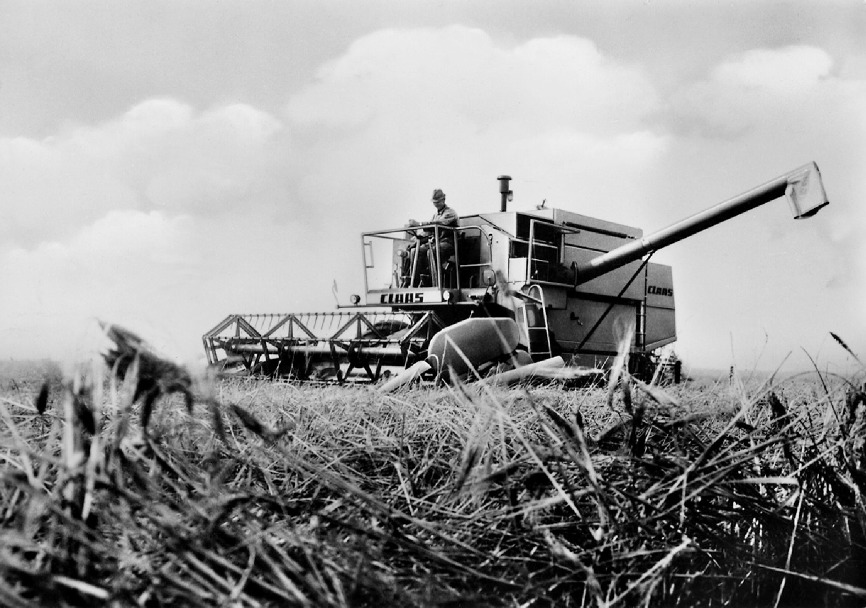 The Claas Dominator marks its 50th anniversary