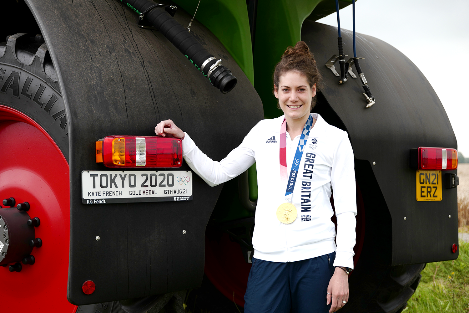 Olympic Gold commemorated by new farm sprayer