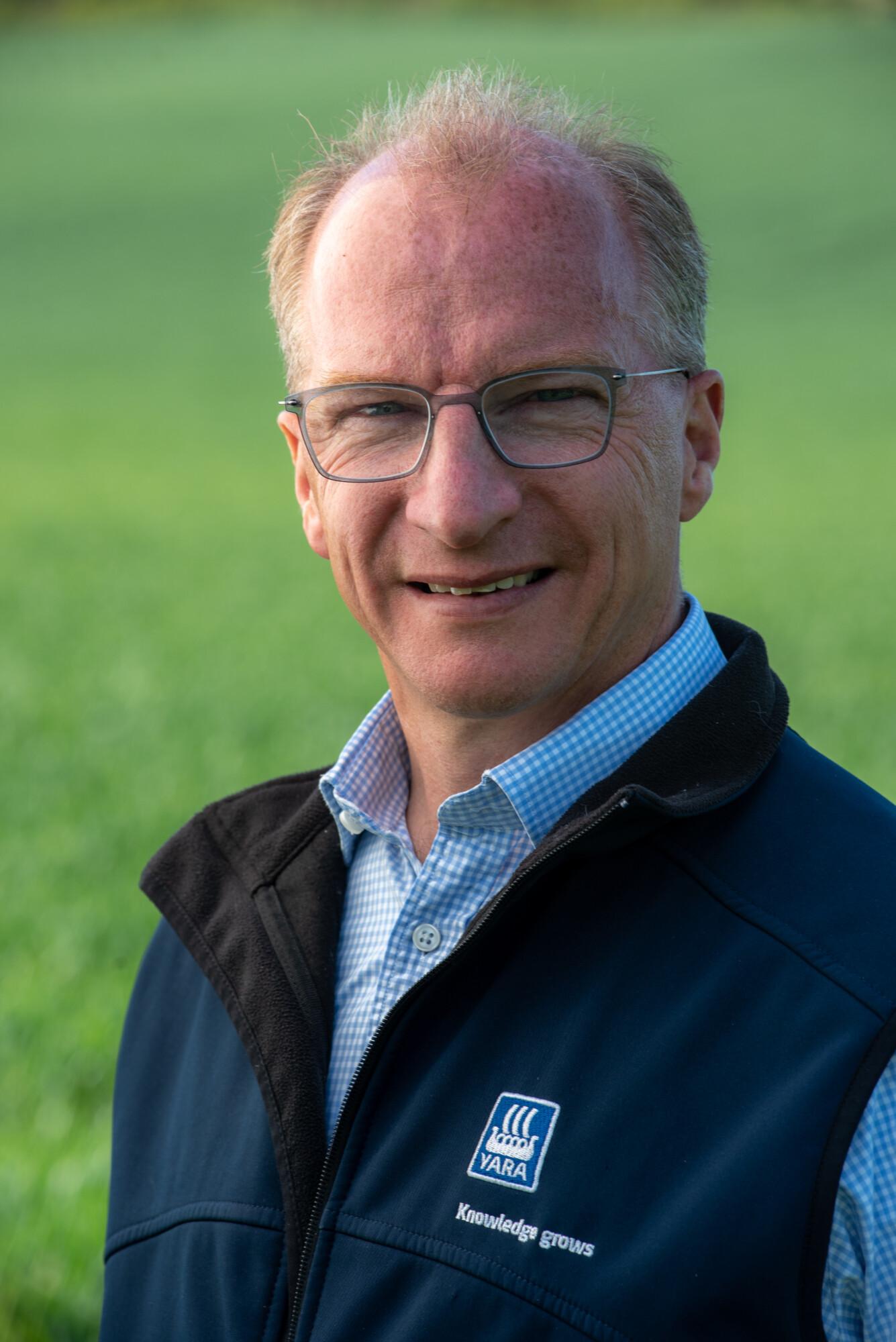 Yara UK head of agronomy Mark Tucker.