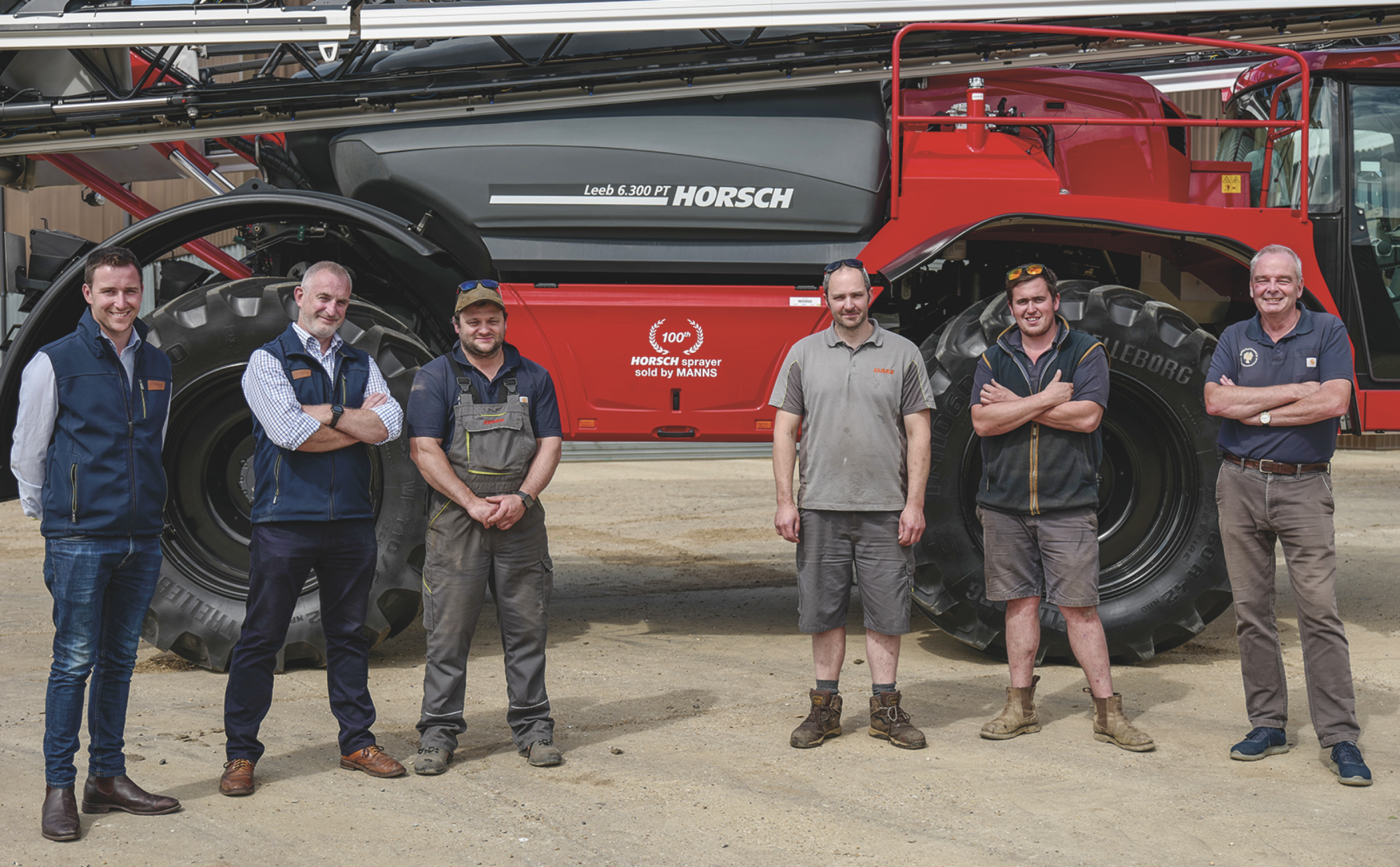 Celebrations for sale of 100th sprayer