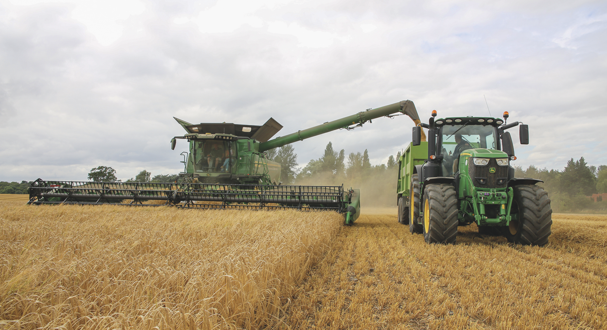 New combine meets expectations in difficult harvest