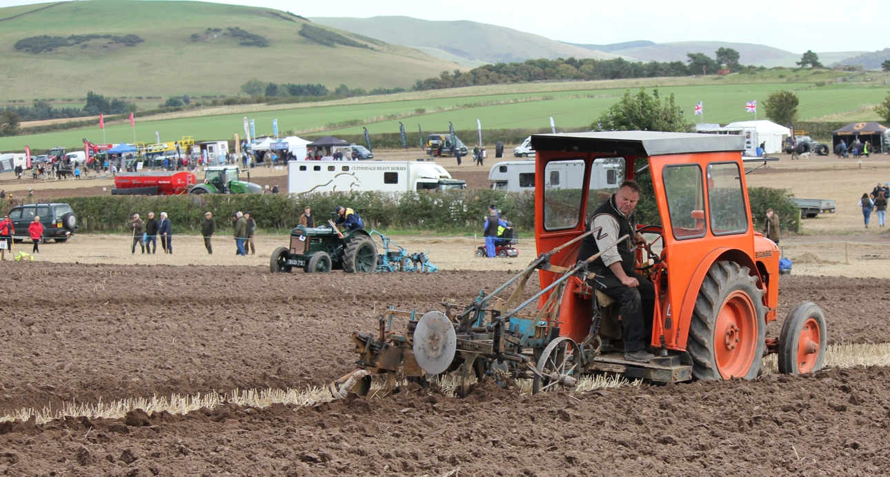 Winners celebrate 70 years of the British National Ploughing Championships