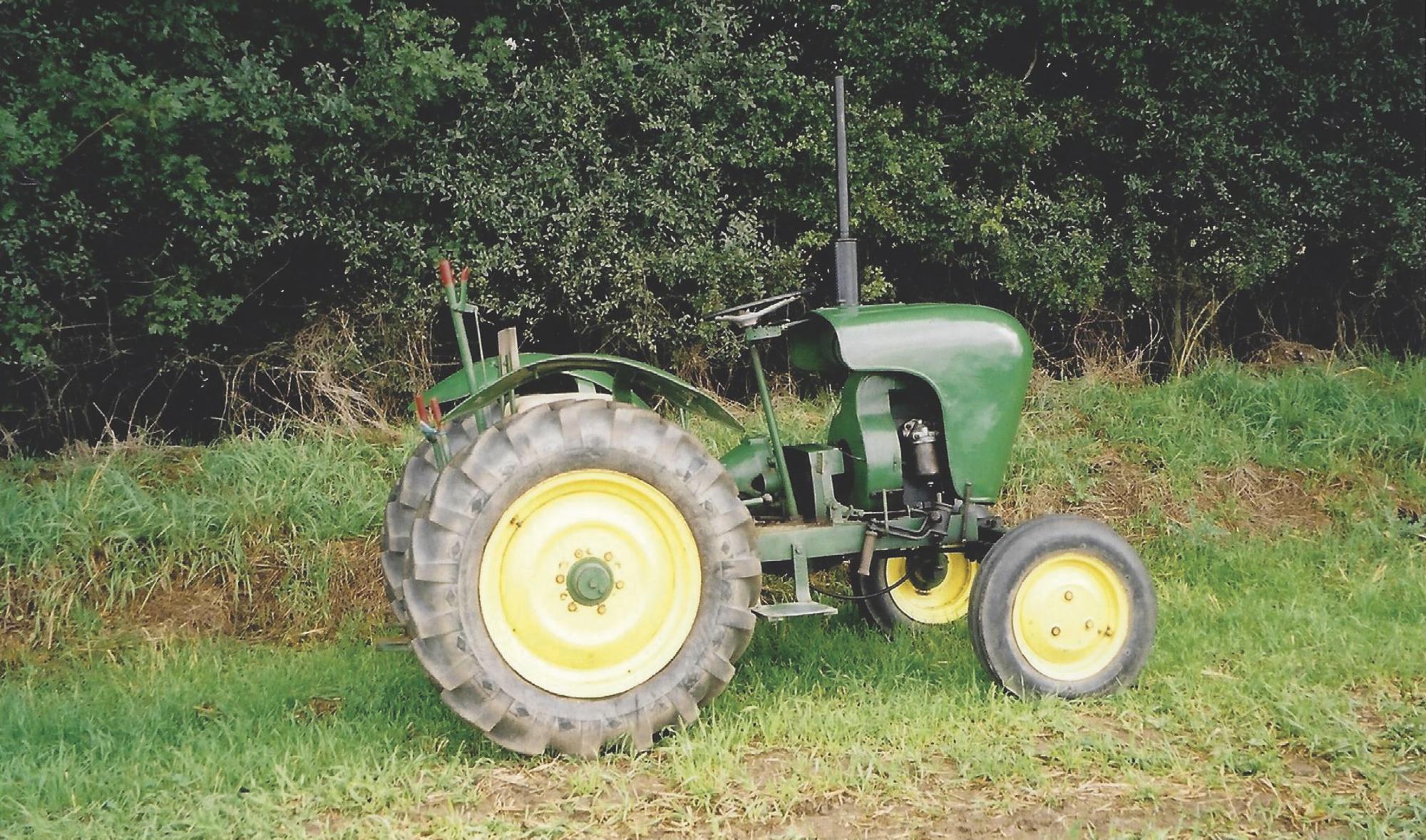 The Crawley 75 tractor